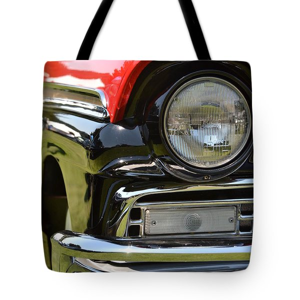 Tote Bag featuring the photograph 50's Ford by Dean Ferreira
