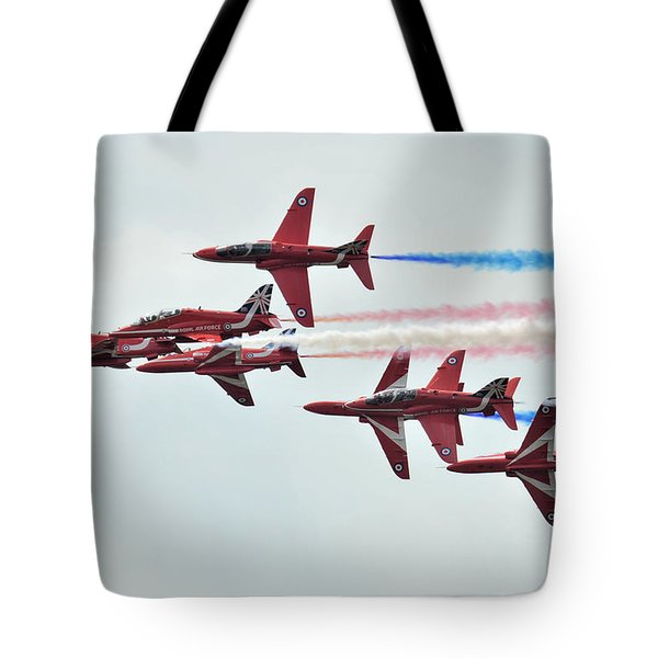 50th Anniversary 'red Arrows' Tote Bag