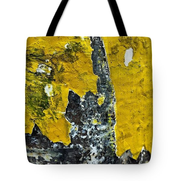 Yellow Post 2 Tote Bag