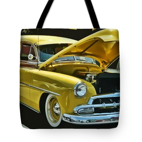 '52 Chevy Wagon Tote Bag