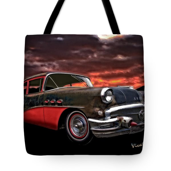53 Buick Special Two Door Tote Bag