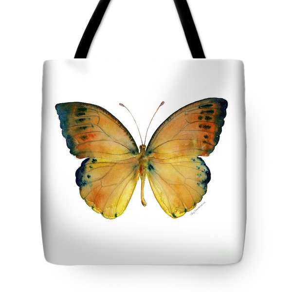 53 Leucippe Detanii Butterfly Tote Bag
