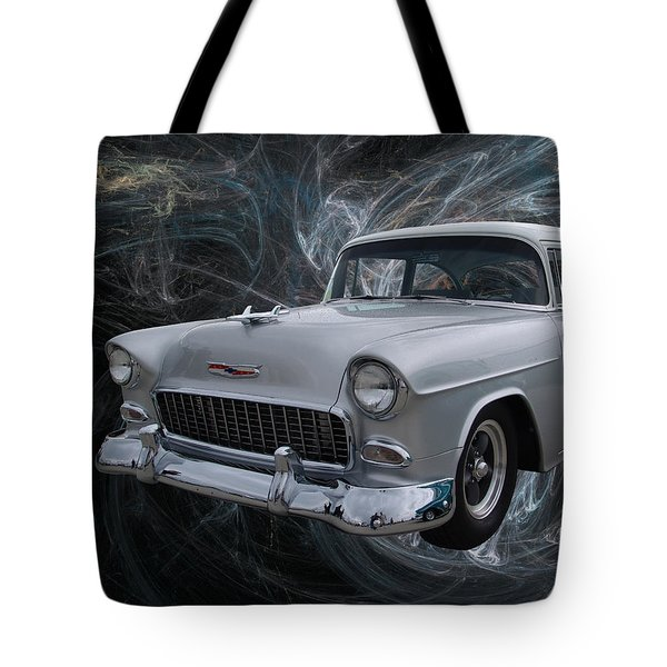 55 Chevy Tote Bag