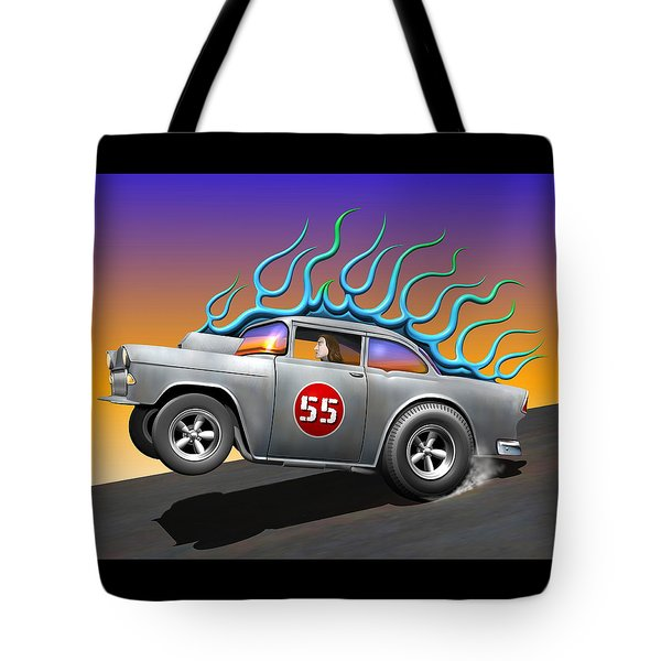 '55 Chevy Tote Bag