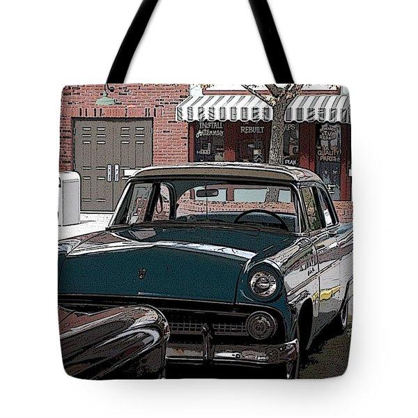 56 Ford Art01 Tote Bag