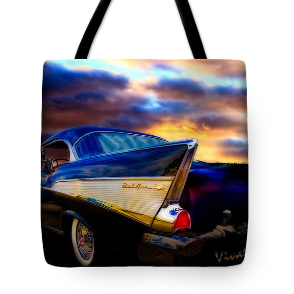 57 Belair Hardtop Cruise Is Done Tote Bag