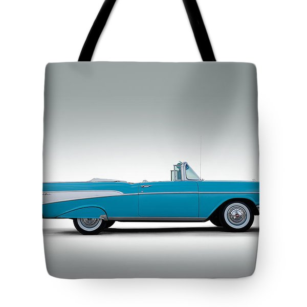 57 Chevy Convertible Tote Bag