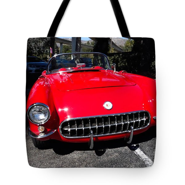 57 Chevy Tote Bag by Nina Prommer