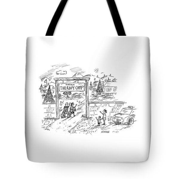 New Yorker July 11th, 2005 Tote Bag