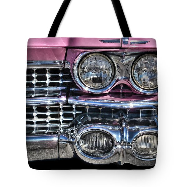 59 Caddy Lights Tote Bag