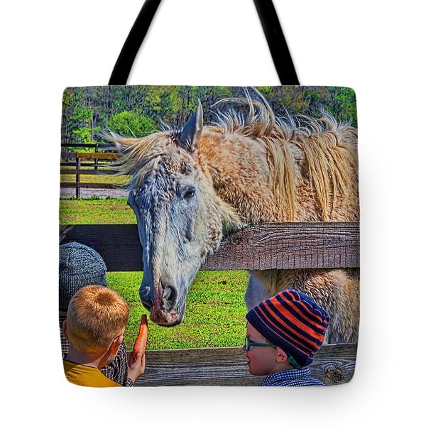 Tote Bag featuring the photograph 5931_212 by Lewis Mann
