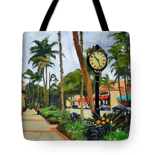 5th Avenue Naples Florida Tote Bag