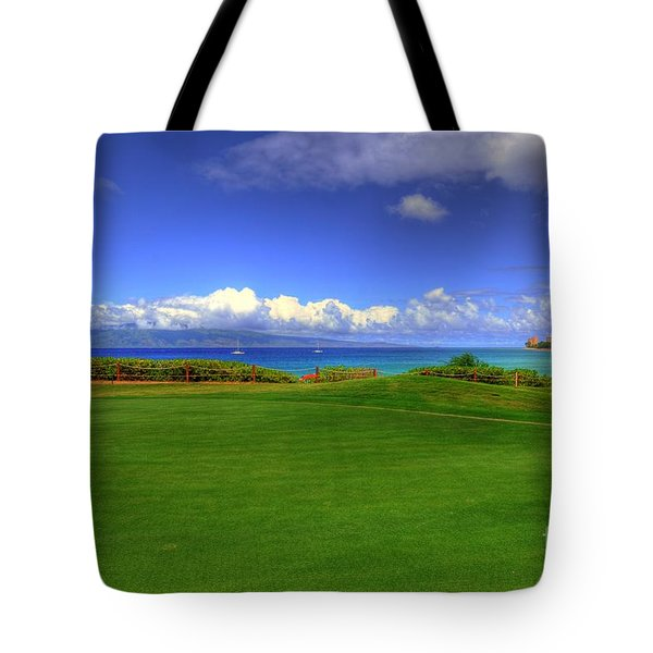 5th Hole Tote Bag by Kelly Wade