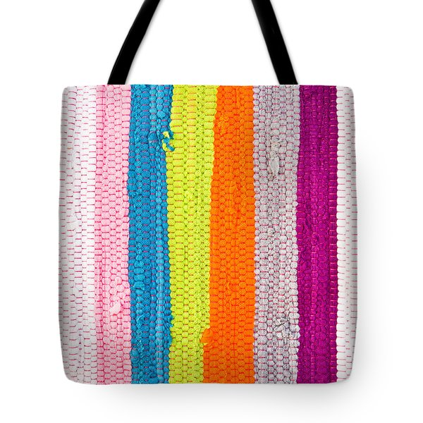Colorful Textile Tote Bag