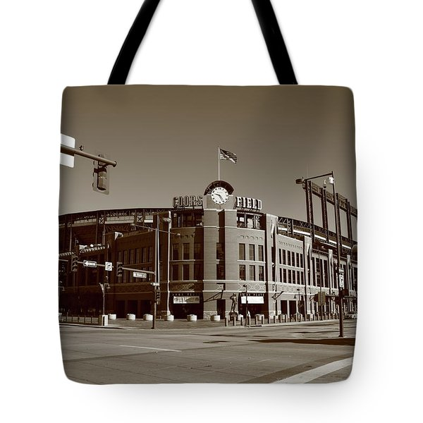 Coors Field - Colorado Rockies Tote Bag