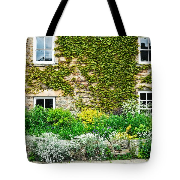 Cottage Garden Tote Bag by Tom Gowanlock