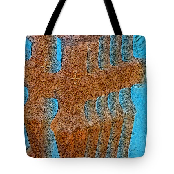 Cyprus Idol Of Pomos Tote Bag by Augusta Stylianou