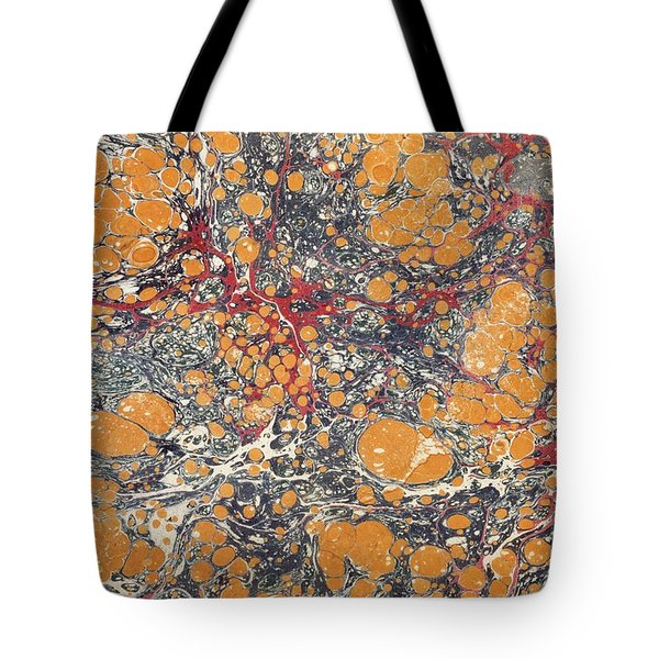 Decorative End Paper Tote Bag by English School