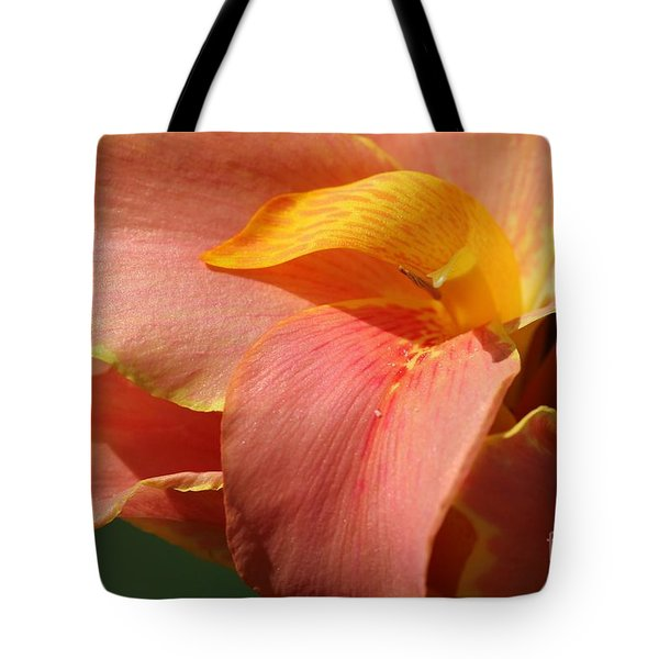 Dwarf Canna Lily Named Corsica Tote Bag by J McCombie