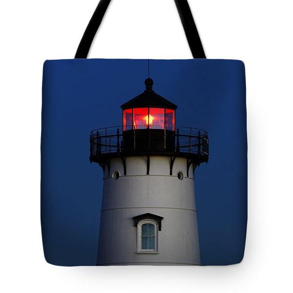 Edgartown Lighthouse Tote Bag by John Greim