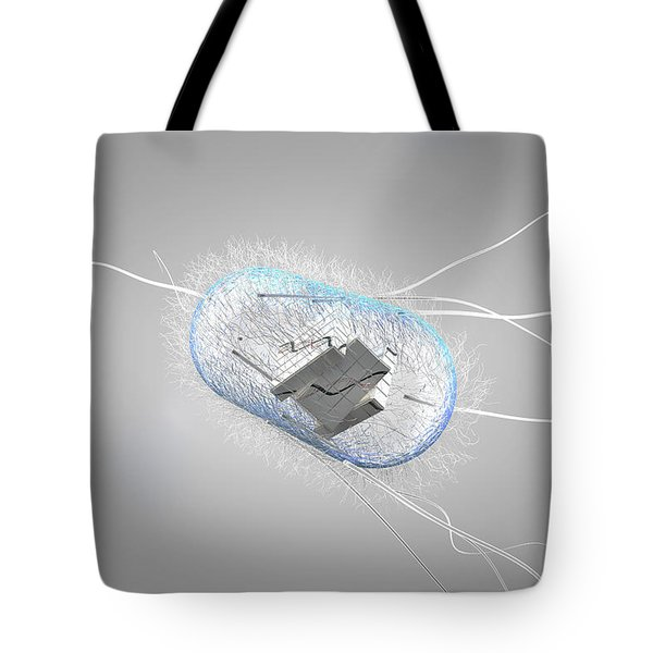 Engineered Bacterial, Conceptual Tote Bag