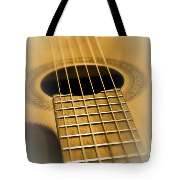 6 Golden Strings Tote Bag