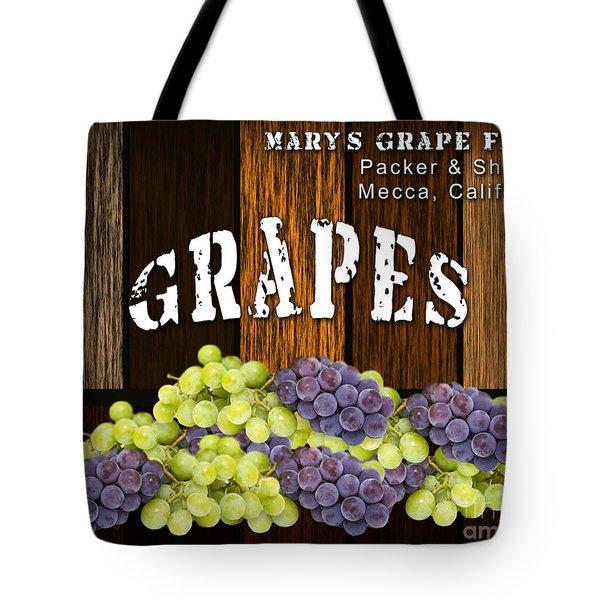 Grape Farm Tote Bag