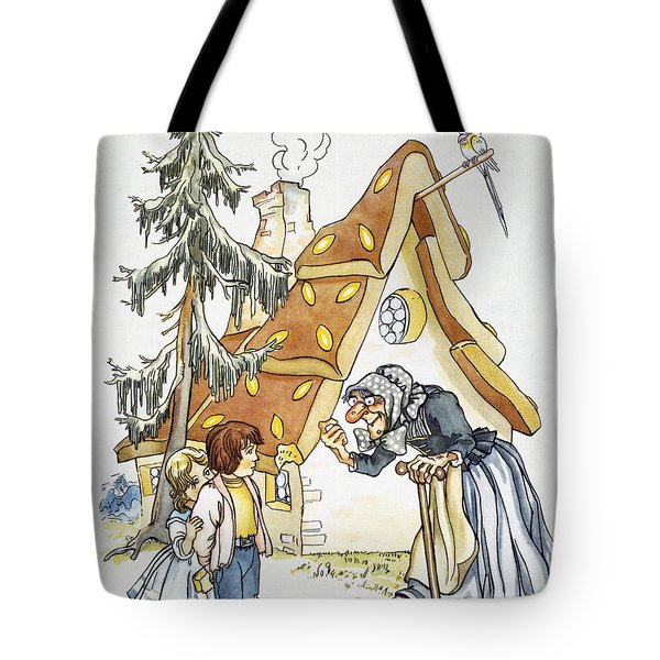 Grimm: Hansel And Gretel Tote Bag by Granger