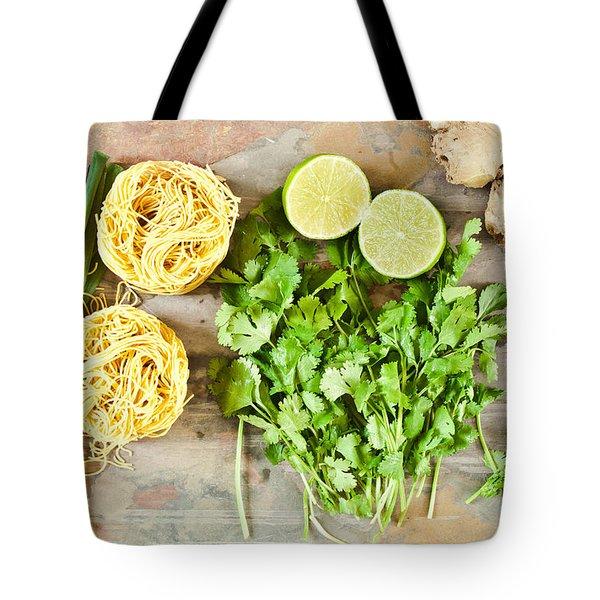 Ingredients Tote Bag by Tom Gowanlock