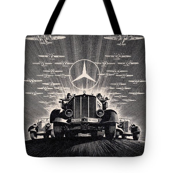 Mercedes - Benz Tote Bag
