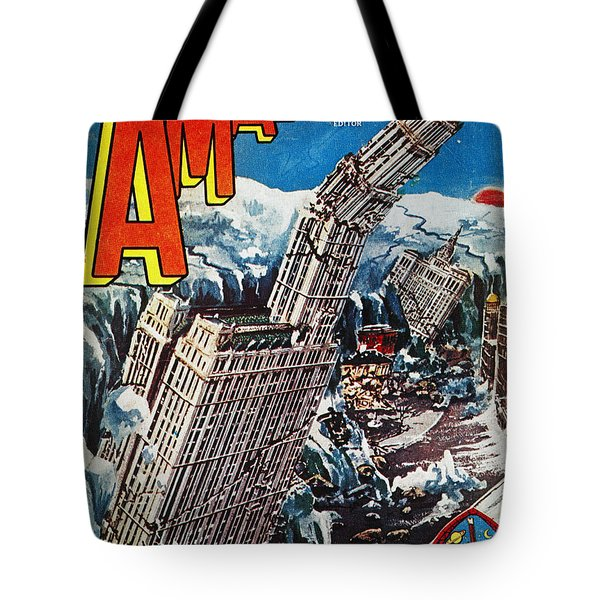 Science Fiction Magazine Tote Bag by Granger