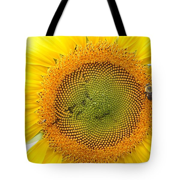 Sunflower Tote Bag by Dacia Doroff