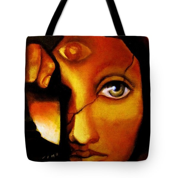 The Seeker Tote Bag by Dalgis Edelson