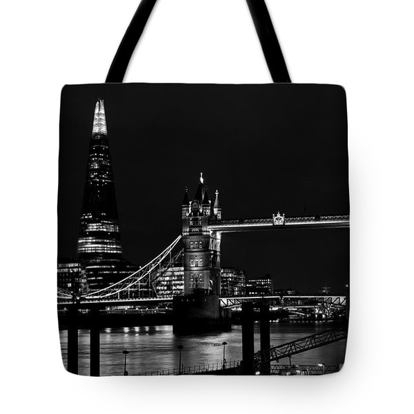 The Shard And Tower Bridge Tote Bag