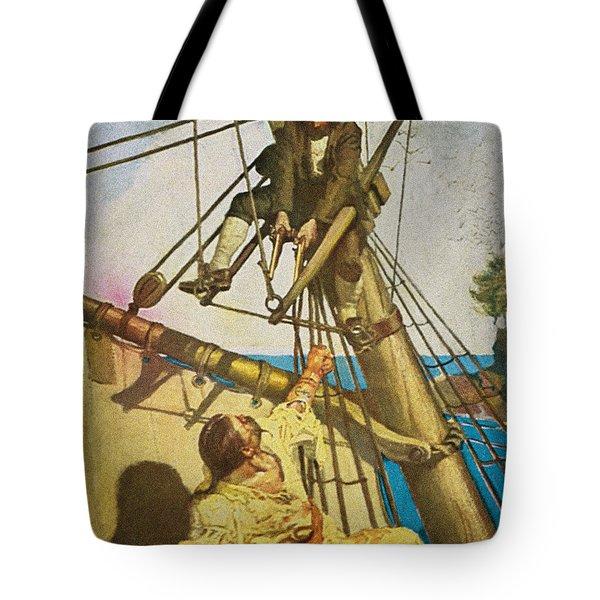 Treasure Island, 1911 Tote Bag
