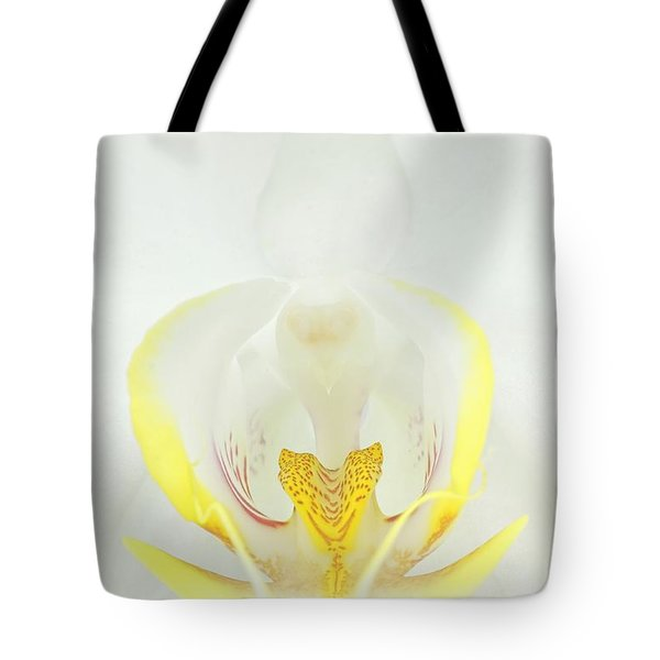 White Orchid-3 Tote Bag