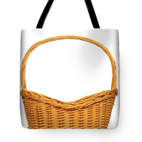 Wicker Basket Number Seven Tote Bag