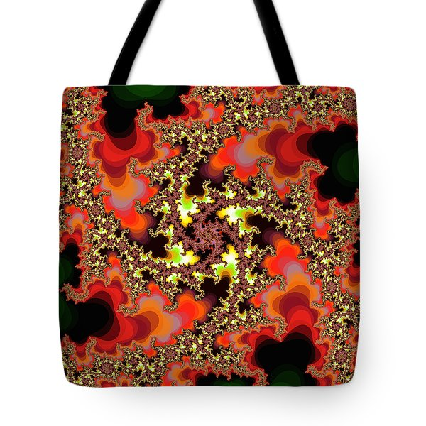 Tote Bag featuring the photograph 60's Flower Garden 4 by Ronda Broatch