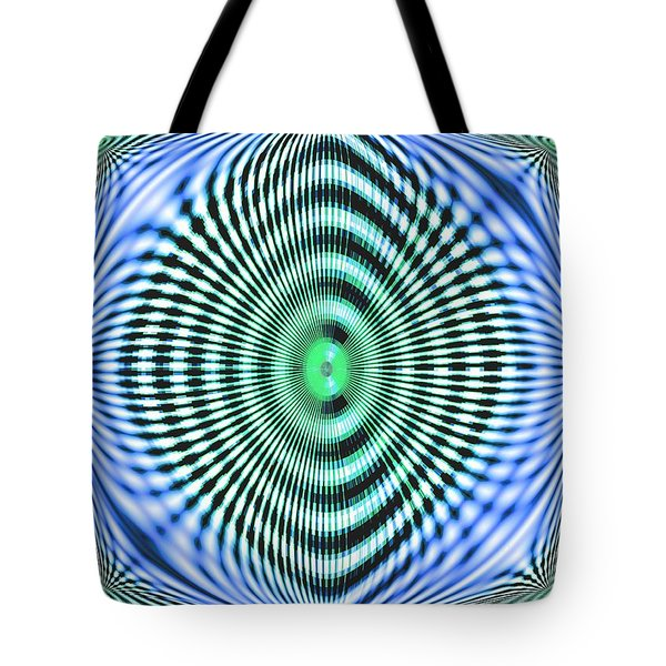 Tote Bag featuring the digital art 60s Time by Aliceann Carlton