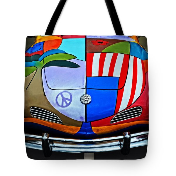 60s Wild Ride Tote Bag