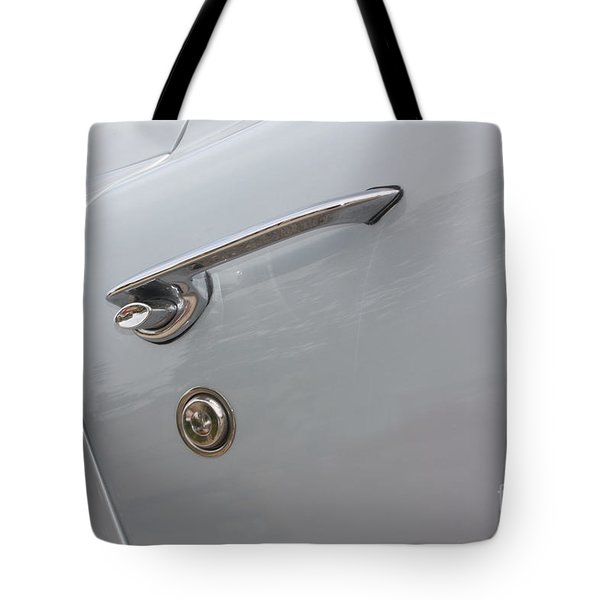 61 Corvette-grey-door Handle-9268 Tote Bag by Gary Gingrich Galleries
