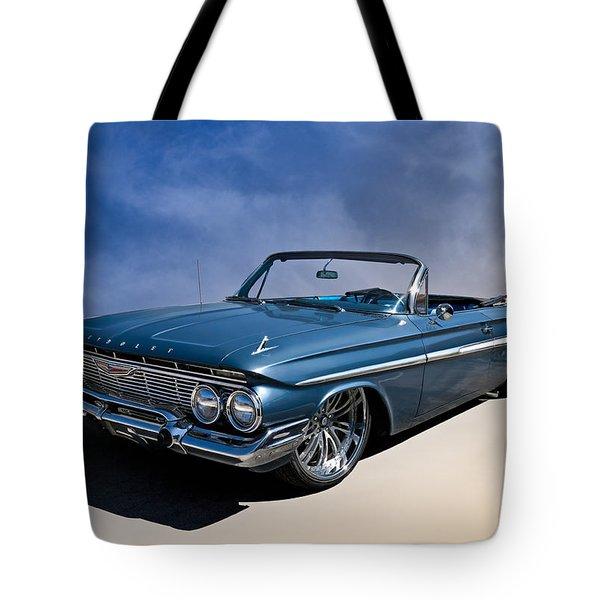 '61 Impala Tote Bag by Douglas Pittman