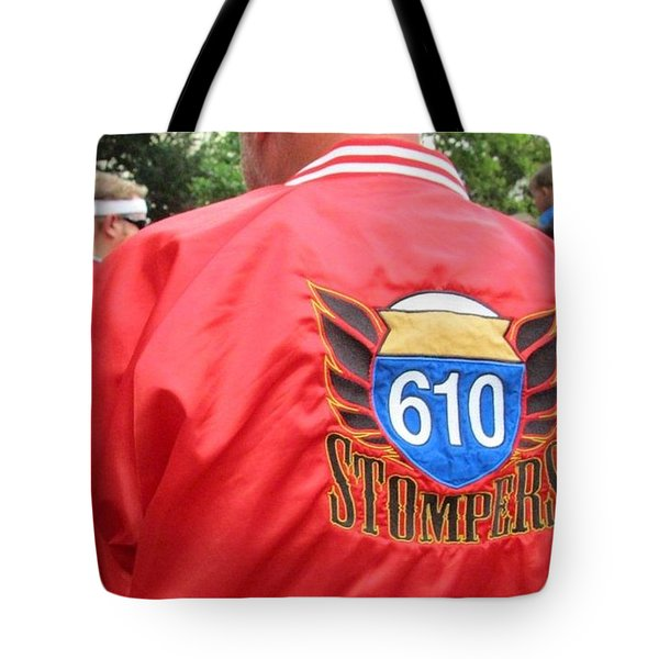 610 Stompers - New Orleans La Tote Bag by Deborah Lacoste