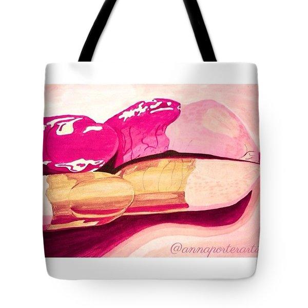 Sensuality Tote Bag by Anna Porter
