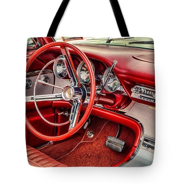 62 Thunderbird Interior Tote Bag