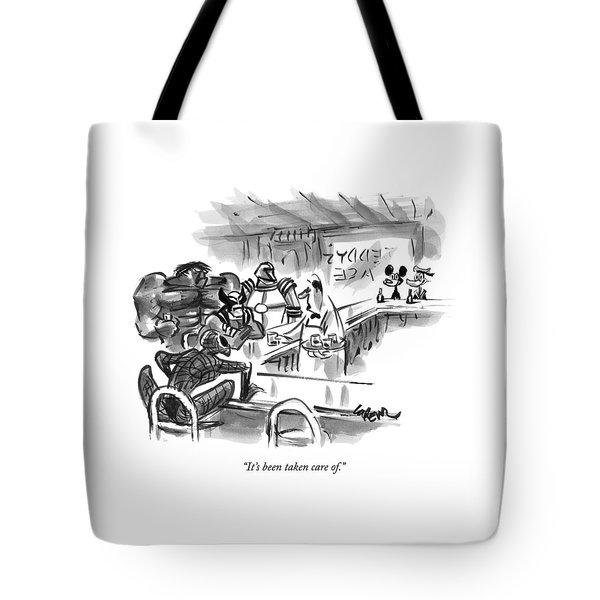 New Yorker September 14th, 2009 Tote Bag