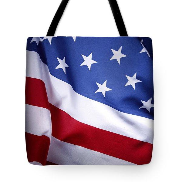 American Flag 50 Tote Bag