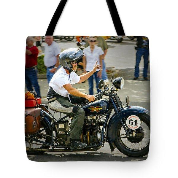 64 Flat Tote Bag