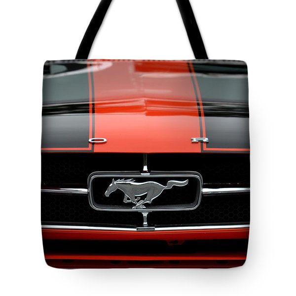 65 Mustang Tote Bag by Dean Ferreira