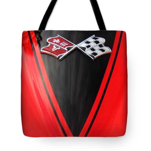 65 Sting Ray-torch Red-hood-8785 Tote Bag by Gary Gingrich Galleries